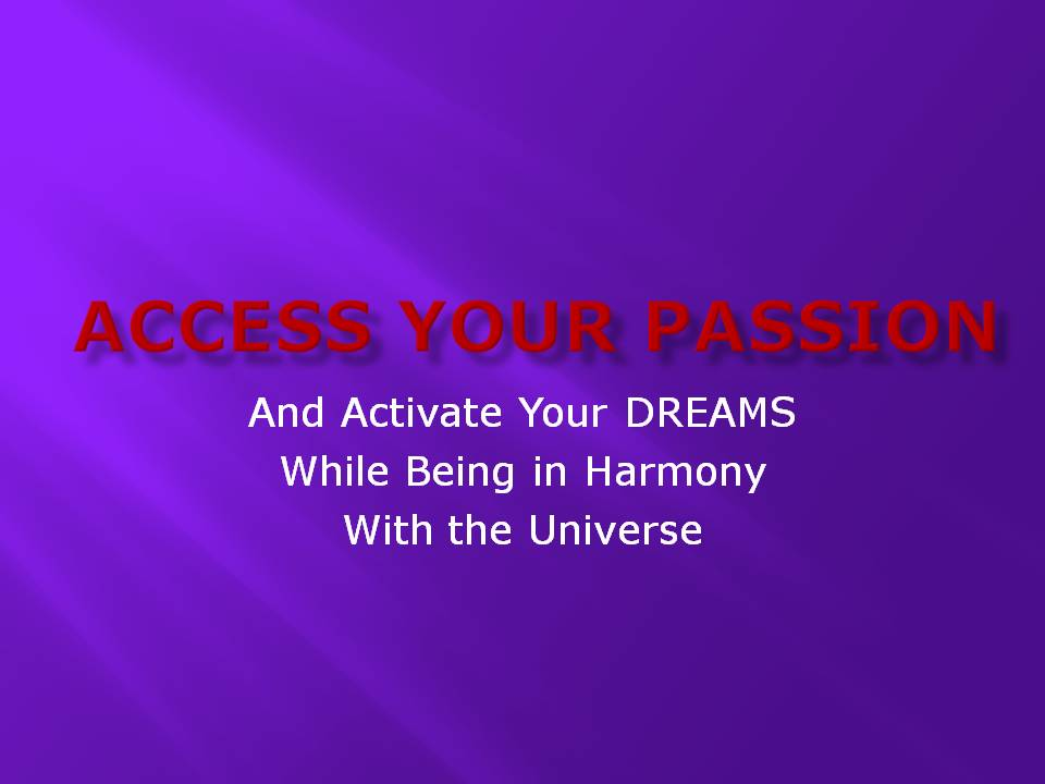 Access Your Passion_001