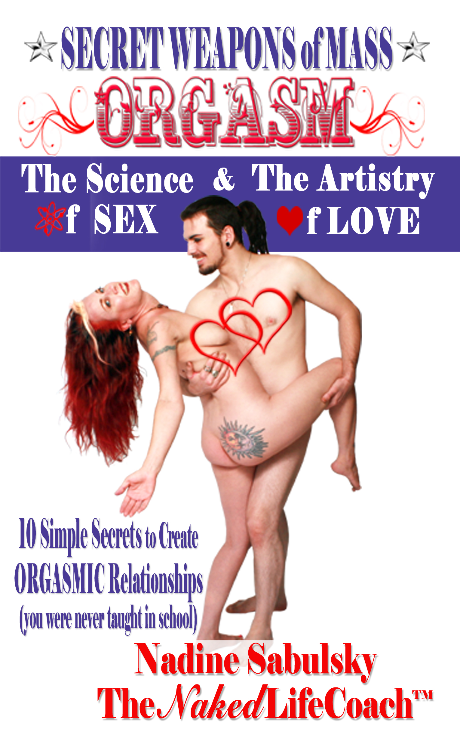 Secret Weapons of Mass Orgasm front cover